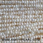 3522 center drilled pearl 2.5-3mm white color
